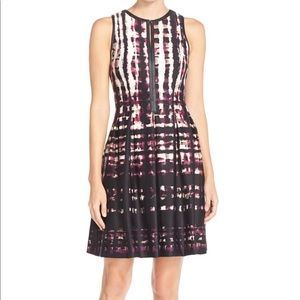 NWOT Vince Camuto Scuba Fit and Flare Dress 2